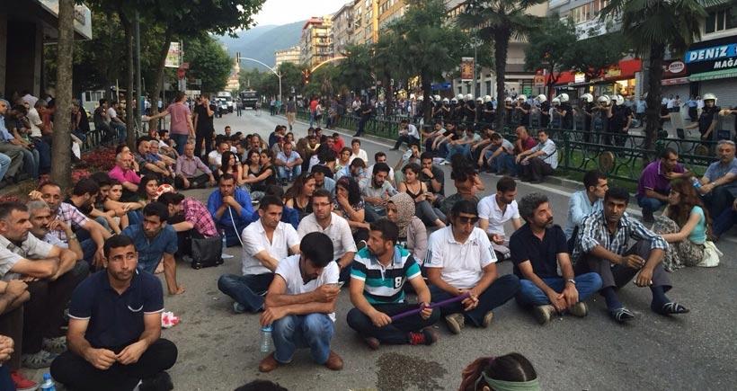 Bursa'daki Suruç eyleminde 3 kişi gözaltına alındı