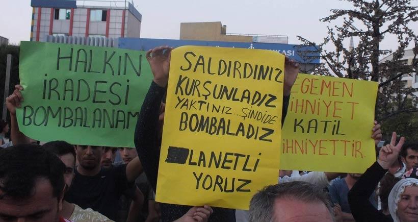 Şırnak'tan Kıbrıs'a on binler katliama karşı ayağa kalktı