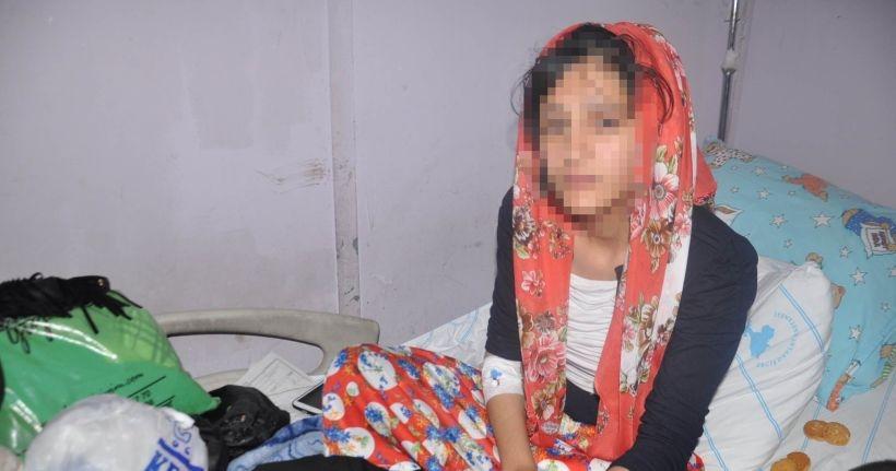 'Hastayım' diyen hamile kadın darbedildi