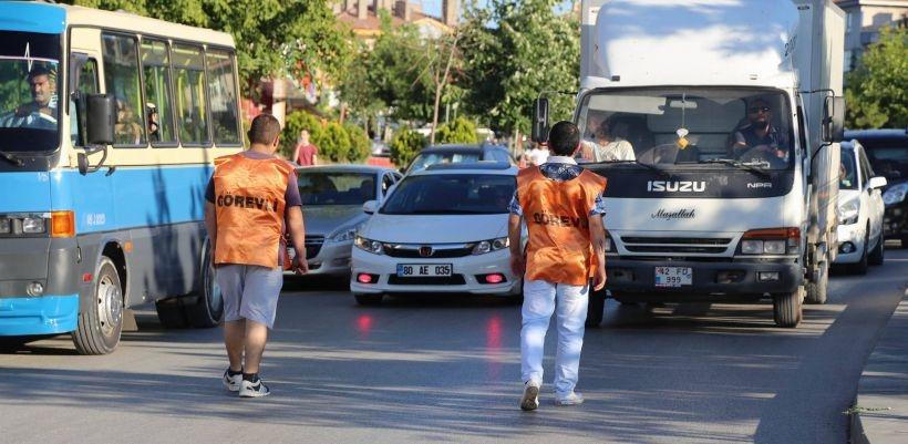 Tuzluçayır'daki eylemde güvenlik tedbirleri halk tarafından alındı