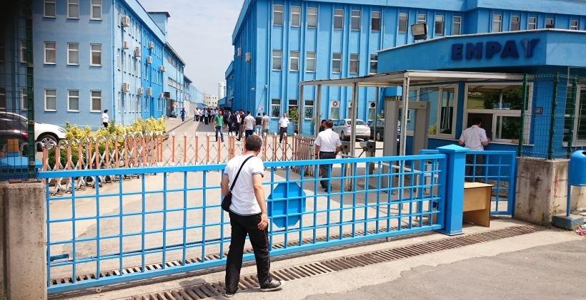 Enpay fabrikası cezaevine dönüştürüldü