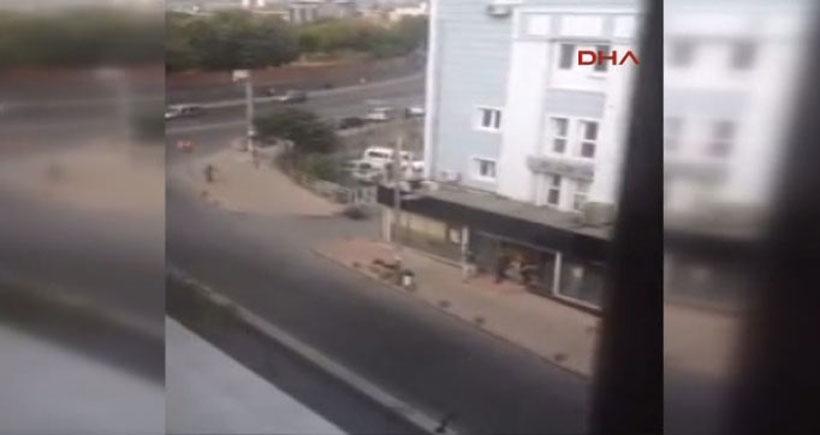 Okmeydanı'ndaki silahlı saldırının ardından polis hastane önünde havaya ateş açtı