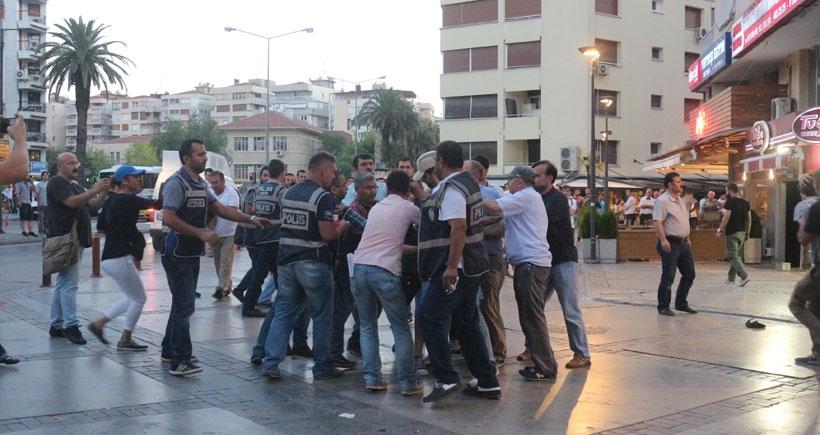 Suruç eylemine saldıran polisten basına: Bizim basınımız değilsin