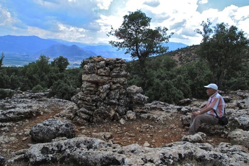 Likya yolunda Şaman tapınakları