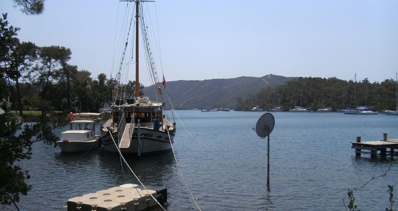 Denizci Boro'nun  cennetinde  yapılaşma