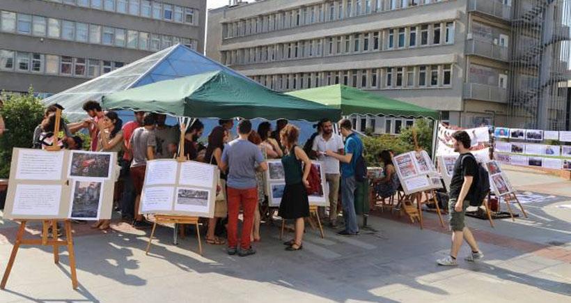 Boğaziçi Üniversitesi Barış Bloku kuruldu