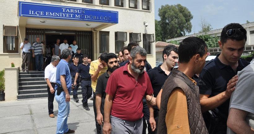 Tarsus'ta gözaltına alınan IŞİD'lilerden 7'si tutuklandı