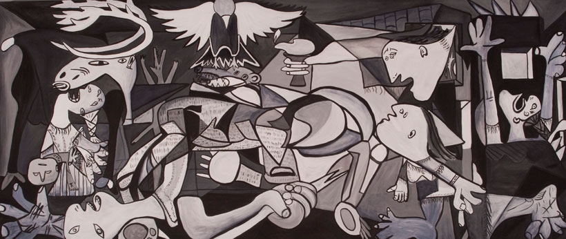 Savaşa sanatla direnmek