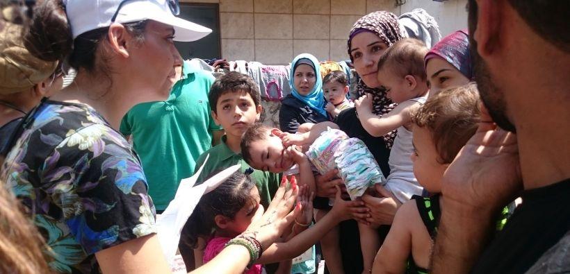 Suriyeli mültecilere sağlık taraması yapan Dr. Varol: Salgın tehlikesi bulunuyor