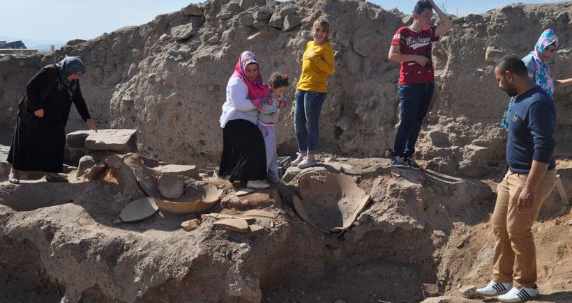 Kırıkkale'de Hititlere ait bin kişiyi doyuracak ambarlar bulundu