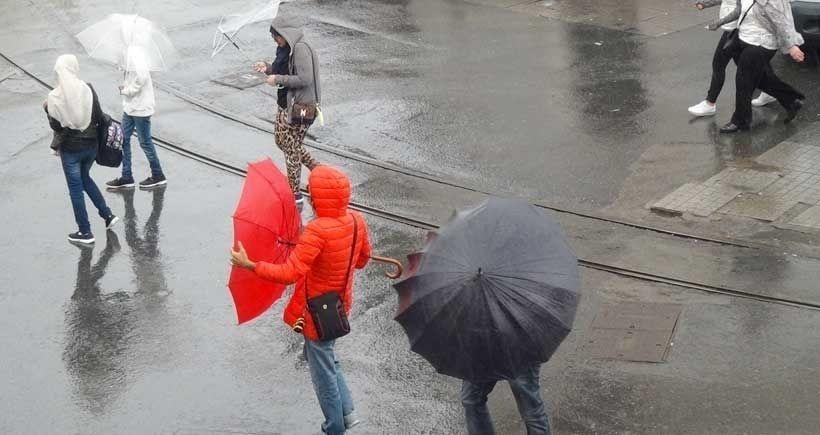 Yurdun batı kesimlerine sağanak yağış uyarısı