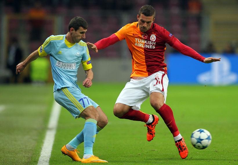Astana maçı 1-1 bitti, Galatasaray UEFA Avrupa Ligi'ne ...