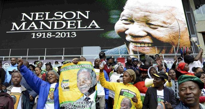 Mandela ölümünün birinci yılında anıldı