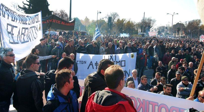 Köylülerin direnişi sürüyor: Troykaya teslim olmayacağız