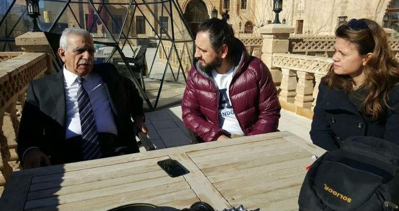 Haber Nöbeti'ndeki gazeteciler Sur ve Mardin'deydi