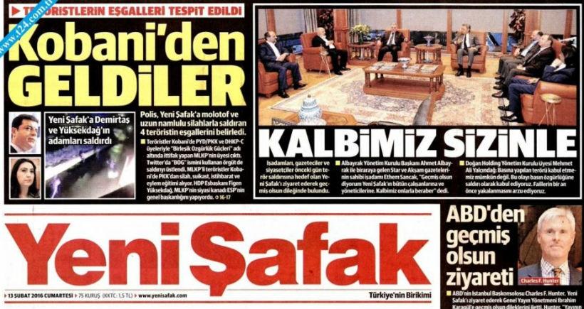 HDP Yeni Şafak'a tepki gösterdi