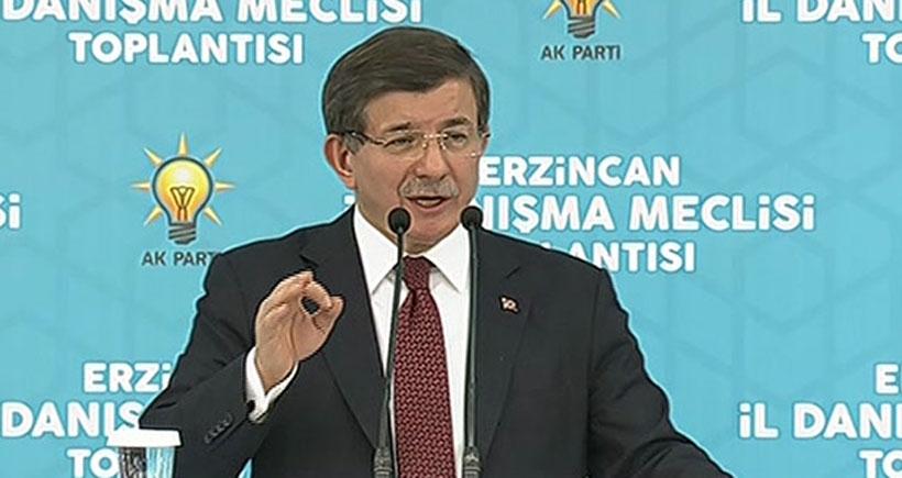 Davutoğlu: DİSK Genel Kurulunda alçakça sloganlar atıldı