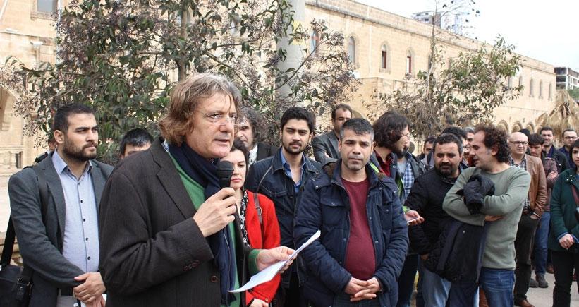Artuklu'da 36 akademisyene açılan soruşturmaya tepki