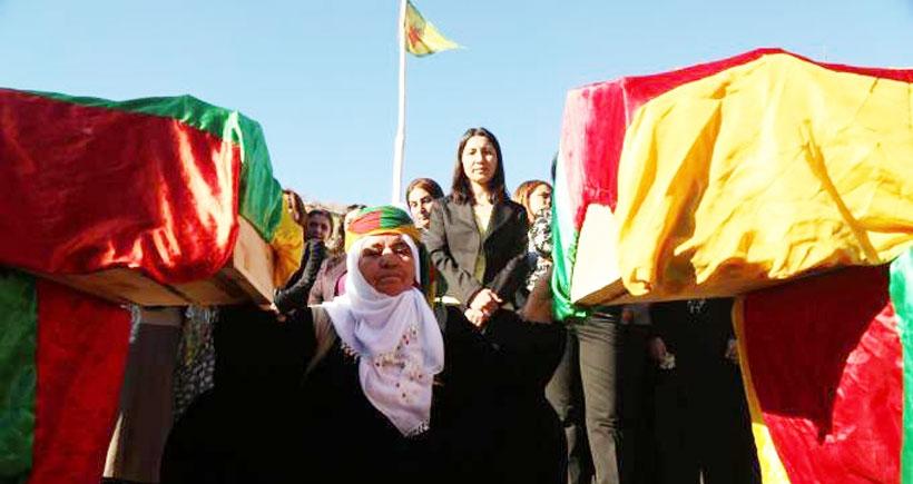 Cizre'de bodrumda öldürülen Mehmet Tunç ve Orhan Tunç toprağa verildi