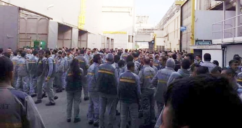 Renault işçilerine baskı artıyor