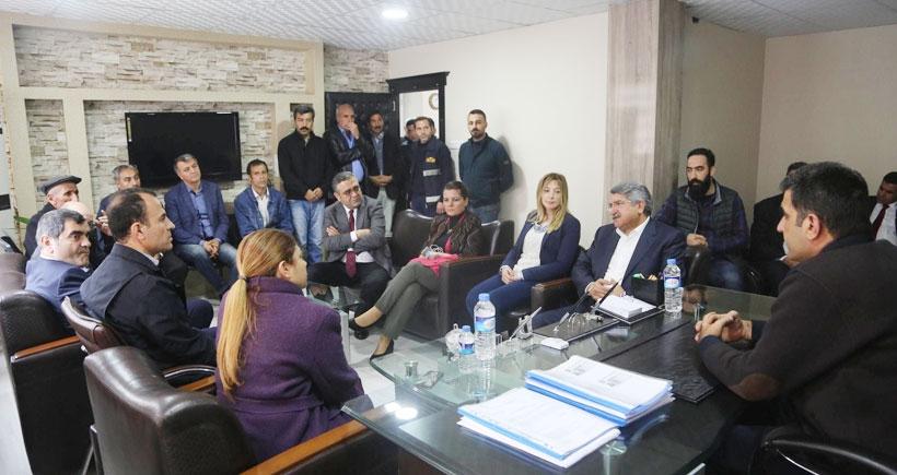 CHP Cizre'ye heyet gönderdi