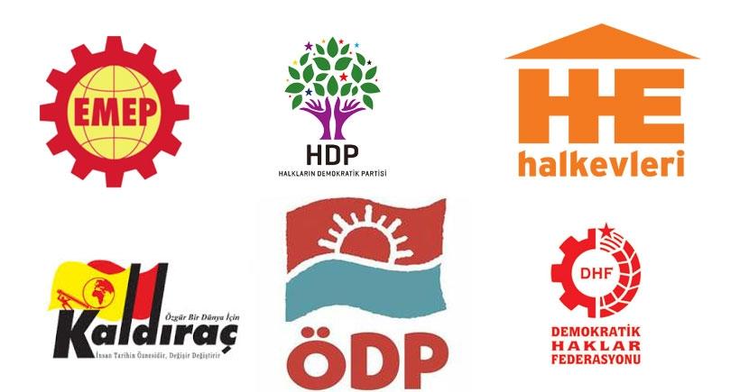 Demokrasiden yana güçler Ankara'da biraraya geldi