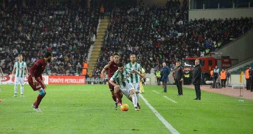 Torku Konyaspor-Trabzonspor: 2-0