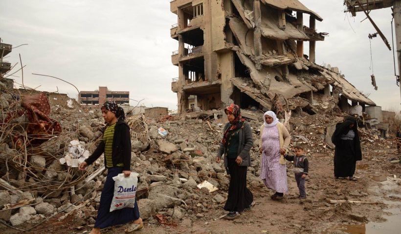 Cizre raporu: 300'e yakın kişi yaşamını yitirdi, ilçenin yüzde 80'i hasar gördü