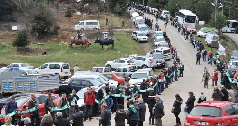 Altın madenine karşı insan zinciri: Cerattepe'nin bilirkişisi Artvin halkıdır