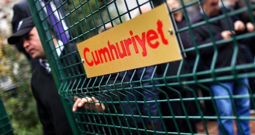 Cumhuriyet: Gazetemize el koyma planları var