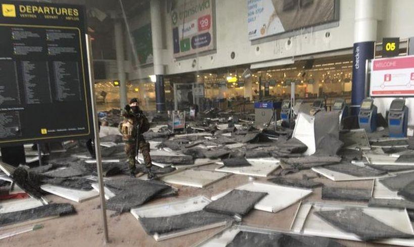 Brüksel Havaalanı'nda intihar saldırısı: 14 ölü