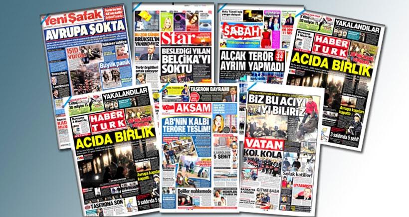 AKP'ye yakın gazeteler Zarrab'ı görmedi
