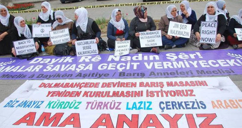 Barış Anneleri: Biz barışa hazırız