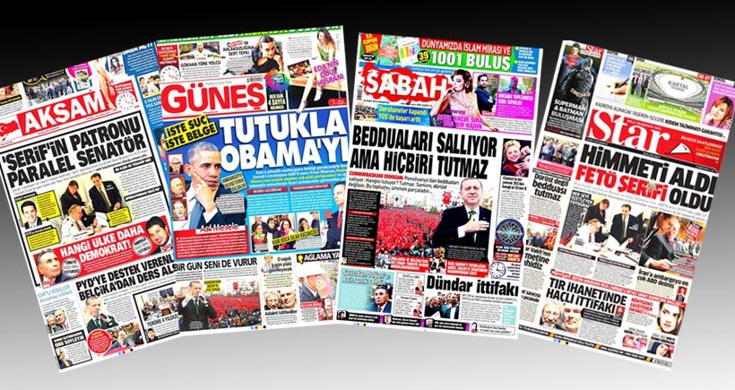 Yandaşlar paralel evrenden yayına devam ediyor