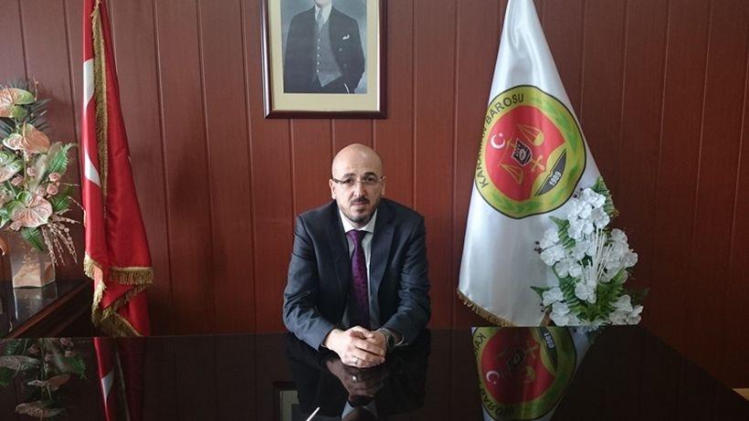 Karaman Baro Başkanı: Suç duyurusunda bulunmamız doğru olmaz
