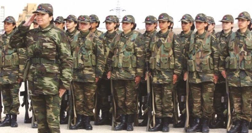 AKP'den kadınlara 'askerlik' uygulaması