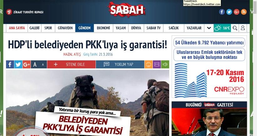 HDP'li belediyeleri hedef alan yandaş basına bir tekzip de Genel-İş'ten