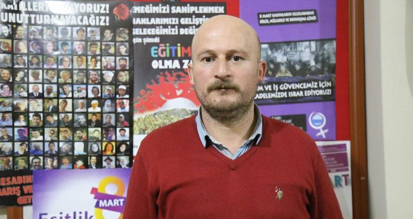 Ağrı KESK Dönem Sözcüsü Keleş: Polis, ajanlık teklif etti