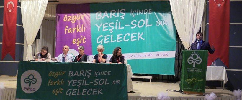 YSGP 2. Olağan Konferansı'nda birlikte mücadele vurgusu