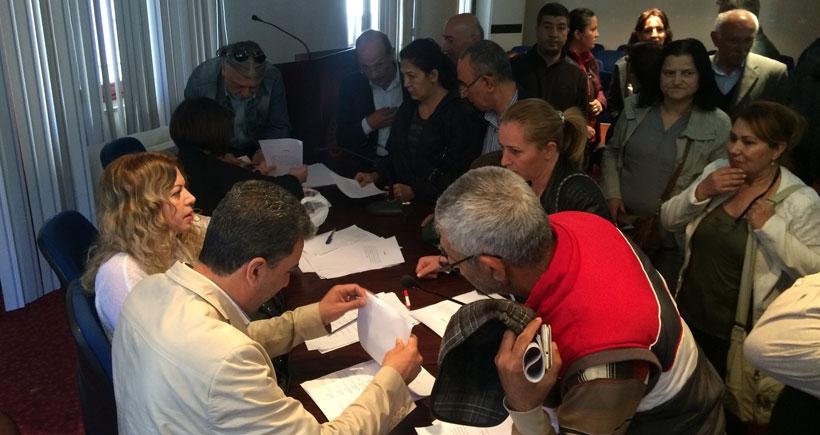 Grevci belediye emekçileri tazminatlarını aldı