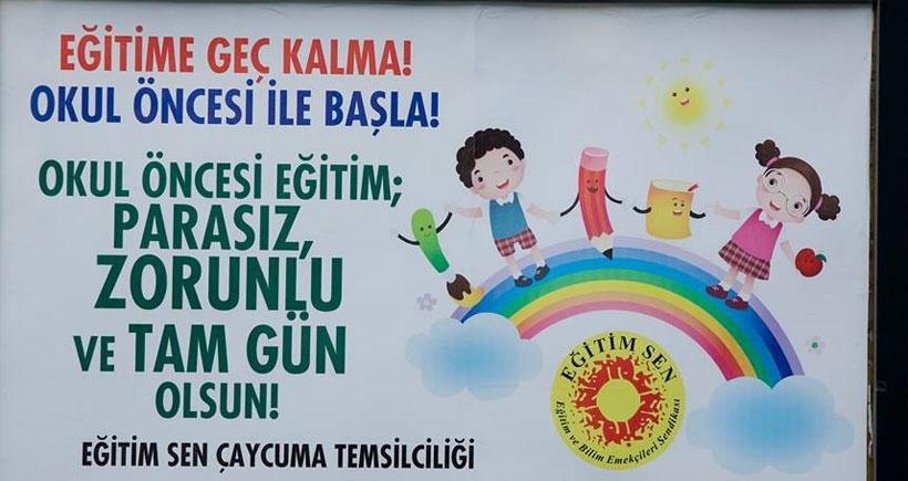 Zonguldak'ta 'Okul öncesi eğitim  zorunlu olsun' kampanyası