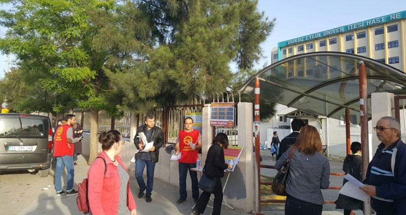 Balçova'da güvenceli iş kampanyası
