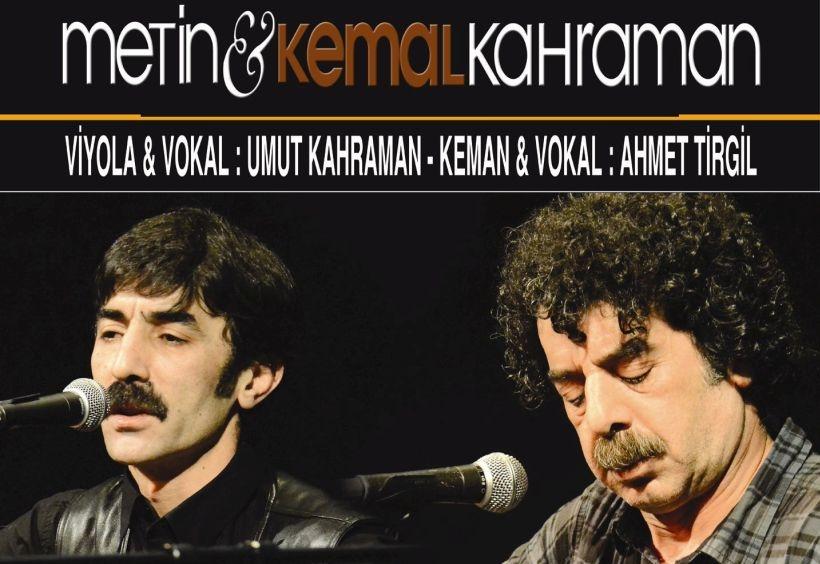 Kahraman Kardeşler 16 Nisan'da Kartal'da konser verecek