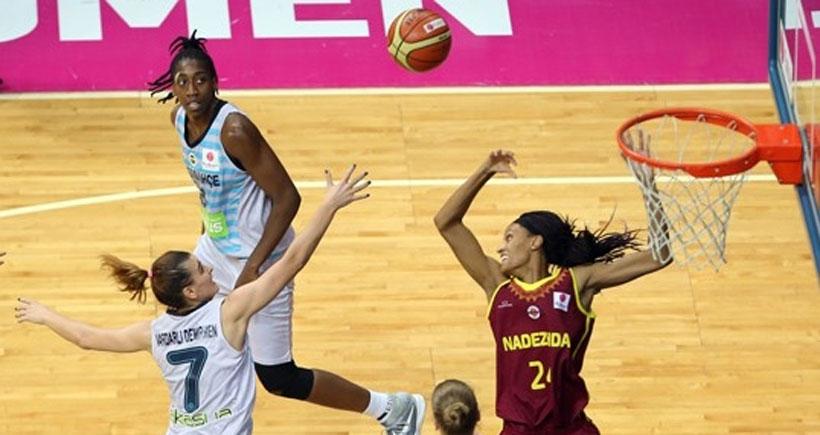 FIBA Kadınlar Avrupa Ligi Dörtlü Finali'nde Fenerbahçe Nadezhda'ya 74-68 yenildi