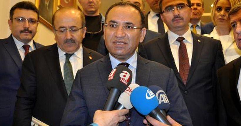 Bozdağ: Türkiye genelinde 336 kişi gözaltına alındı
