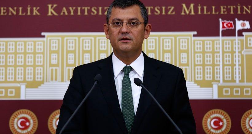 CHP'li Özel'den başkanlık sistemi açıklaması
