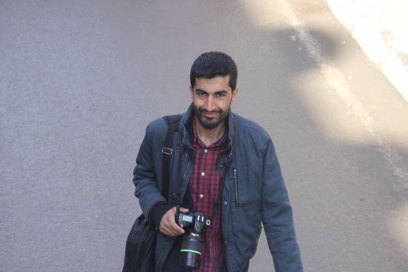 Tutuklu gazeteci Nedim Türfent'ten Göktepeli selamlama