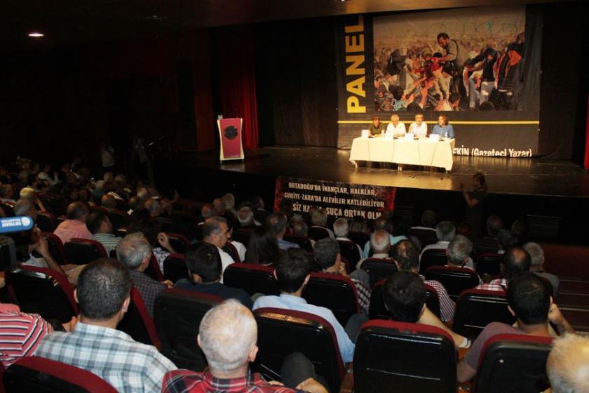 Adana Seyhan'da 'Savaş Göç ve Suriye' paneli