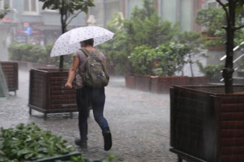 Antalya ve Muğla için çok kuvvetli yağış uyarısı