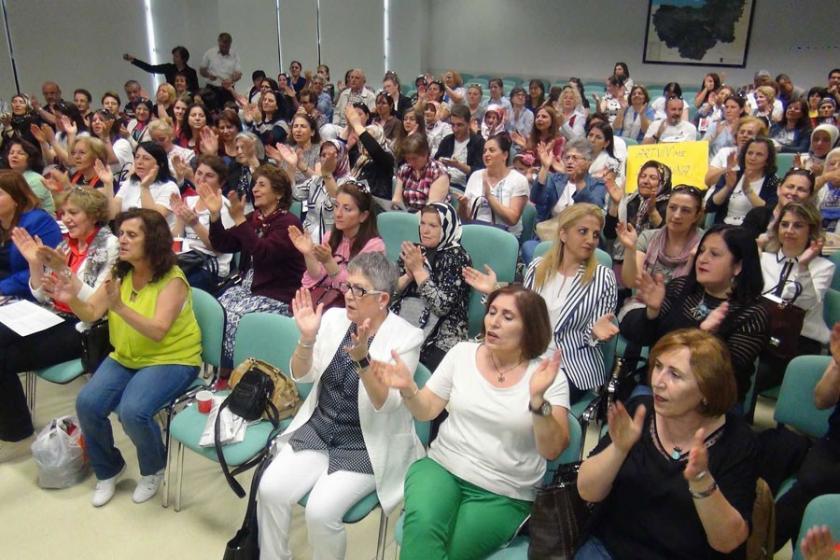 Bursa'da kadınlardan Cerattepe'ye destek
